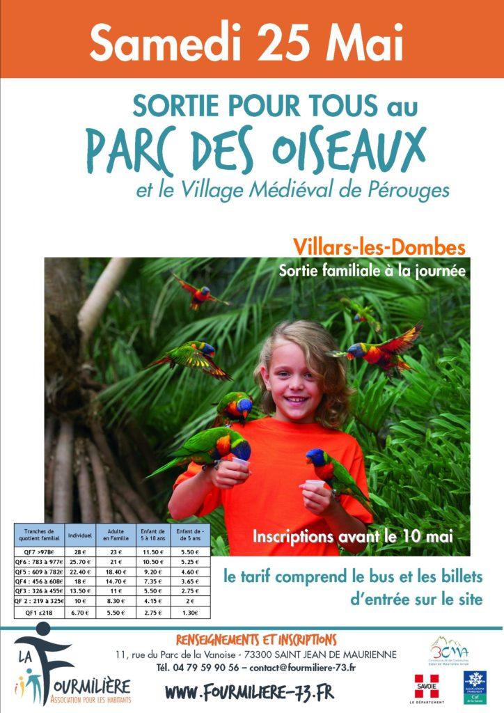 affiche Parc des Oiseaux